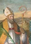 Benedetto Coda, Sant'Apolinare, Trittico di Torricella (particolare) - Museo Diocesano di Pennabilli (PU)