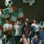Premiazioni Torneo di Calcio 1990