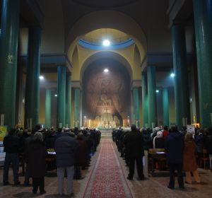 Interno chiesa Sant'Apollinare in Baggio