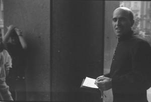 Sul sagrato dopo Messa - Settembre 1980