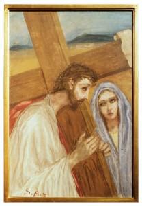 IV stazione - Gesù incontra sua Madre