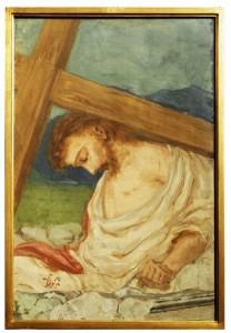 IX stazione - Gesù cade la terza volta