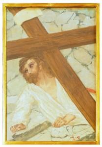 VII stazione - Gesù cade la seconda volta