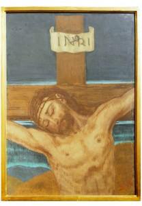 XII stazione - Gesù è innalzato e muore in croce