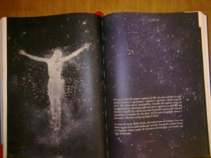 Pagina dell'Evangeliario Ambrosiano del Venerdì Santo