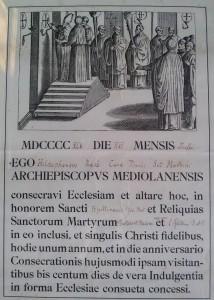 Atto di Consacrazione Parrocchia di Sant'Apollinare in Baggio